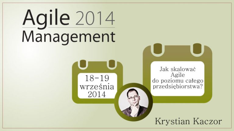 Agile Management 2014